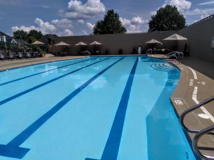 Swim pool at Nevellewood