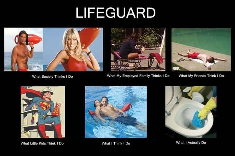 Lifeguard humor