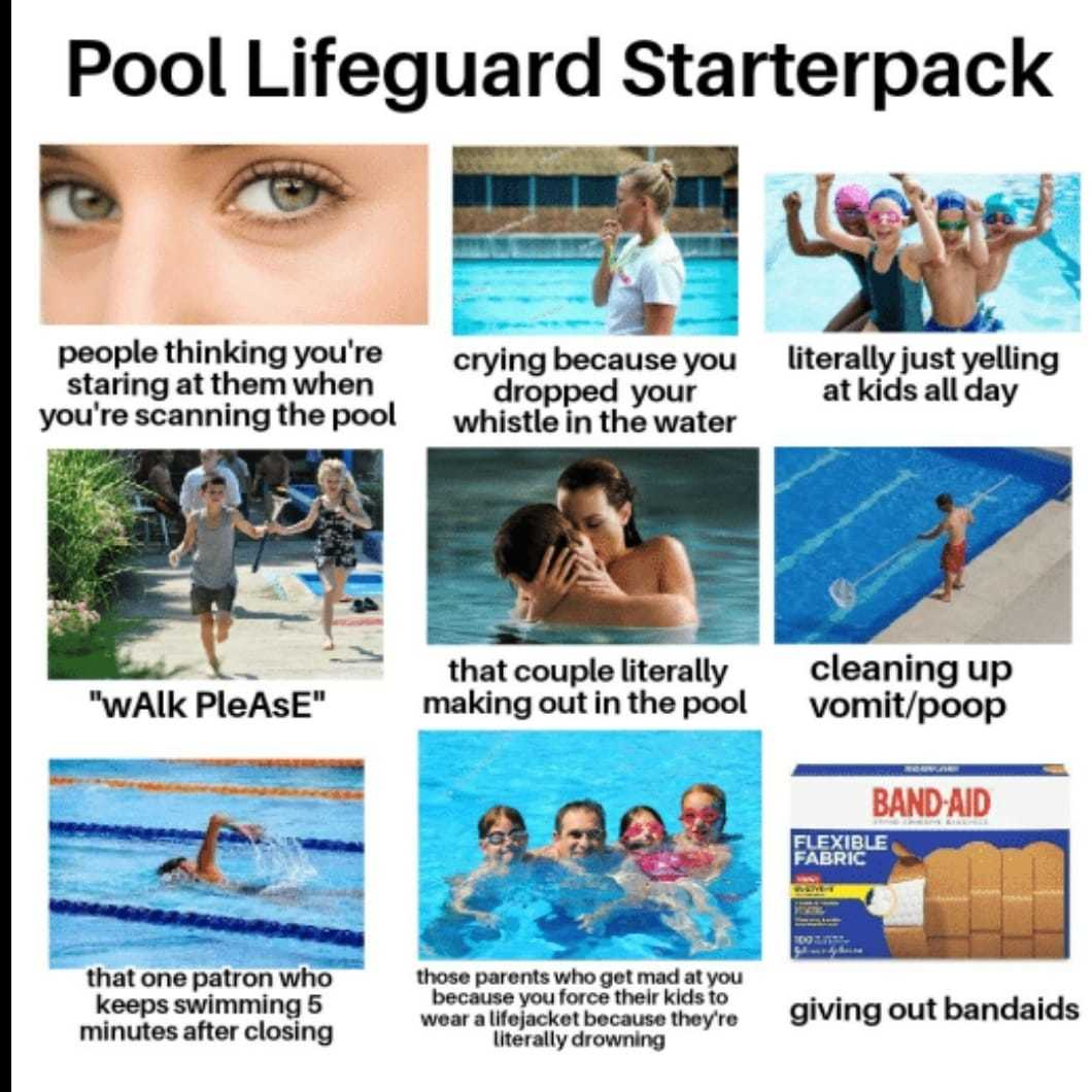 Lifeguard humor