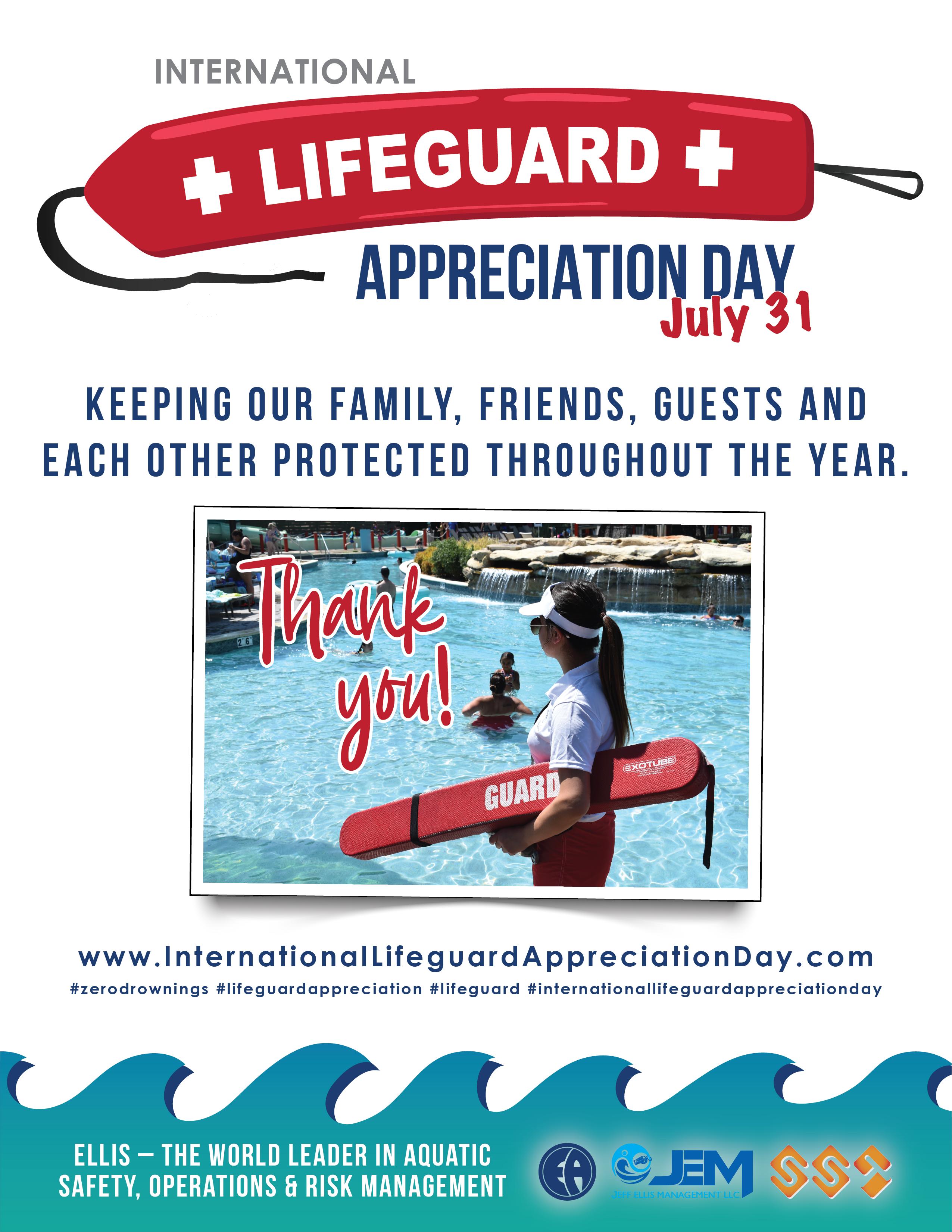 Lifeguard appreciation day