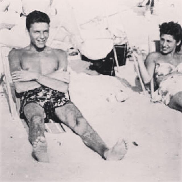 Frank Sinatra, ol blue eyes, California lifeguard